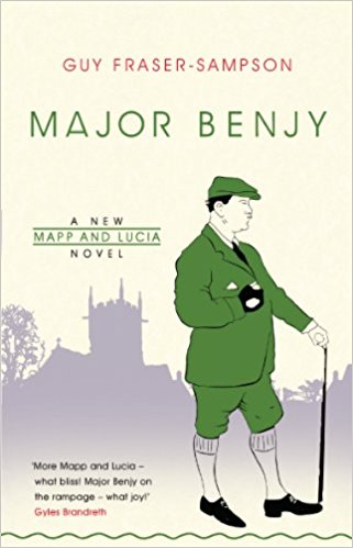 Major Benjy - Guy Fraser-Sampson - Book Cover